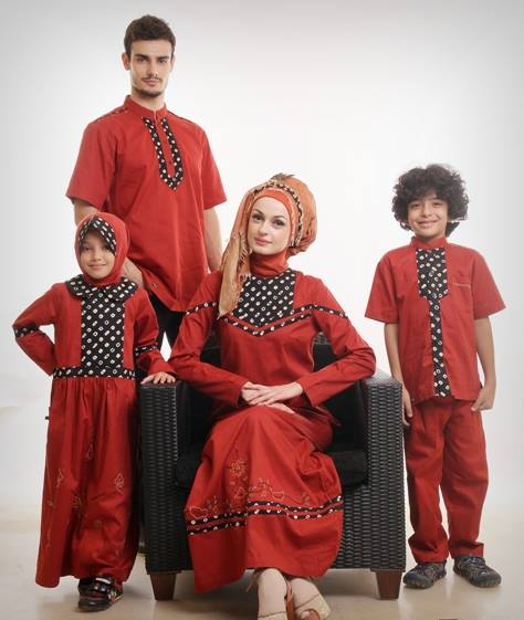 Busana Muslim Couple Terbaru 2015